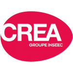 Logo CREA Geneve ecole de Digital Marketing et Communication