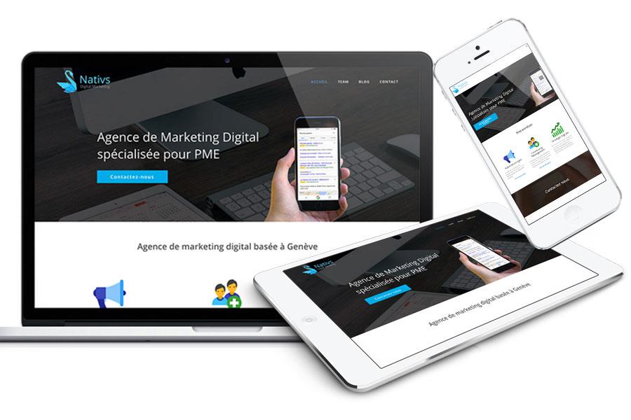 Création de sites web pour PME