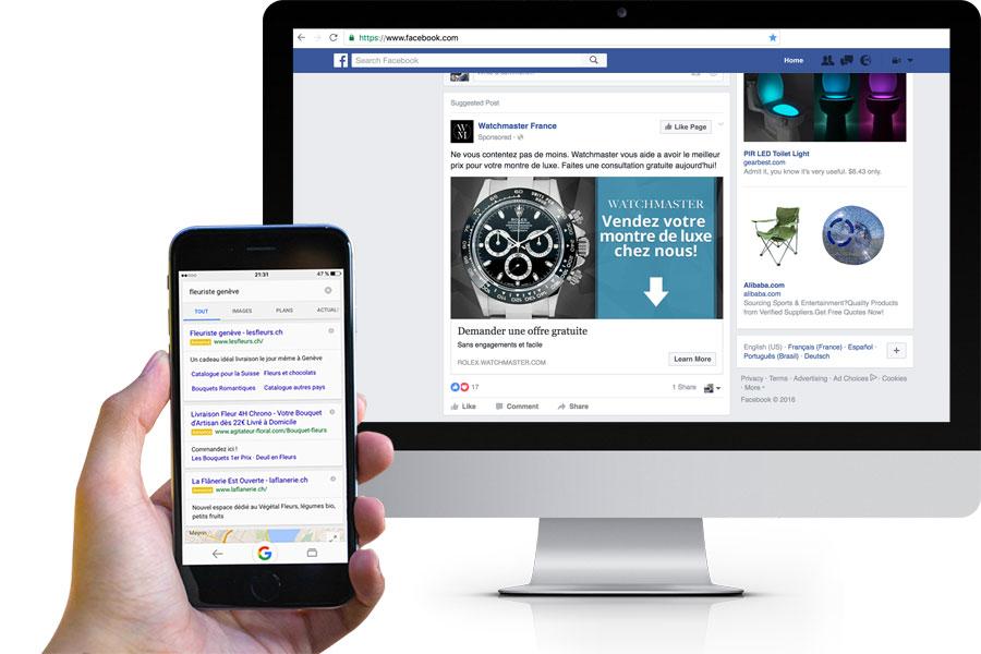 Création de campagnes publicitaires en ligne pour PME